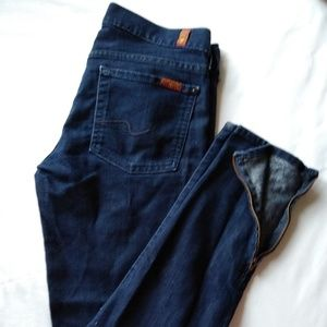 7 for all mankind skinny jeans genevere